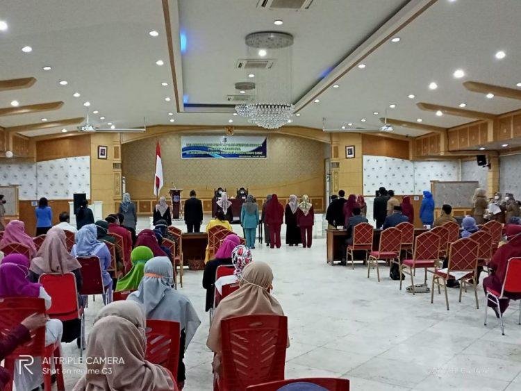 Sekda Agus Sanusi Lantik 94 Orang Pejabat Fungsional