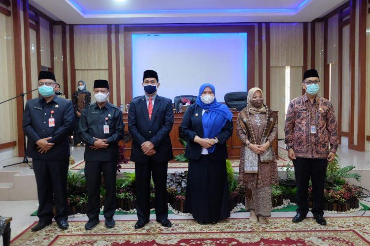 Bupati Masnah Lantik Penjabat Sekretaris Daerah Muaro Jambi