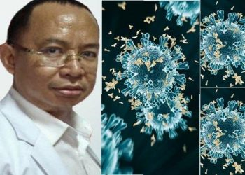 Wakil Ketua PIE RSUP Mohammad Hosien, dr.Harun Hudari,Sp.PD, Virus India B1617 di Palembang Lebih Bahaya, Hancurkan Antibodi dan Mutasi Ganda, Kenali 8 Gejalanya, Minggu (8/5/2021)